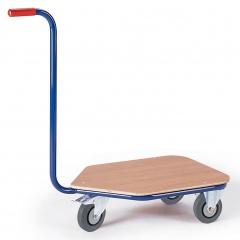 Rollcart Dreirad- Griffroller mit Ladefläche 600x450mm im Buchendekor