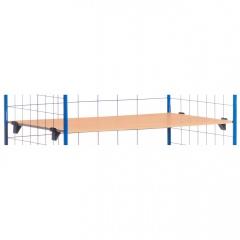 Rollcart Etagenböden mit Halterung als Zubehör