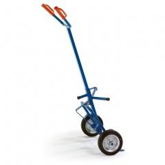Rollcart ESD-Fasskarre mit 250kg Tragkraft Vollgummi