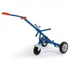 Rollcart ESD-Fasskarre mit Stützrad und 250kg Tragkraft Vollgummi