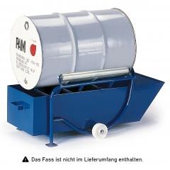 Rollcart Fasskippbock 250kg Traglast mit Polyamid-/Metallrollen