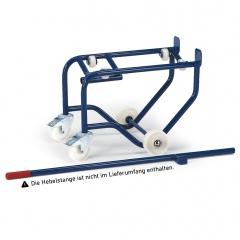Rollcart Fasskipper 150kg Traglast mit Polyamidrollen