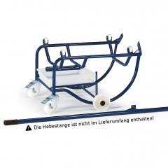 Rollcart Fasskipper 250kg Traglast mit Polyamidrollen