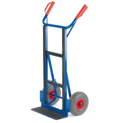 Rollcart Gerätekarre C-Profil mit Schaufelbreite 450mm Vollgummi/Luft