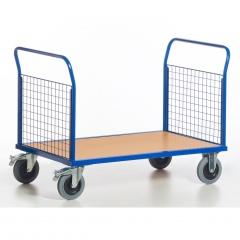 Rollcart Gitter-Doppelstirnwandwagen bis 600kg Tragkraft