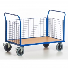Rollcart Gitter-Dreiwandwagen bis 600kg Tragkraft