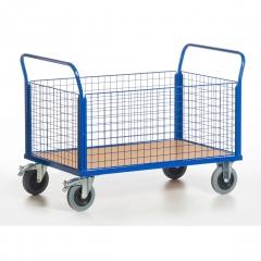 Rollcart Gitter-Vierwandwagen bis 600kg Tragkraft