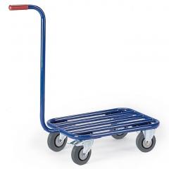 Rollcart Griffroller Ladefläche 600x500mm mit Stahlrohrboden