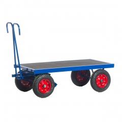 Rollcart Handpritschenwagen ohne Bordwände Vollgummi/Luft