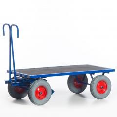 Rollcart Handpritschenwagen ohne Bordwände 700-1000kg Tragkraft Vollgummi/Luft