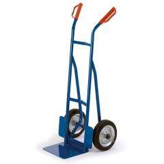 Rollcart kleine ESD-Stapelkarre 530x510mm mit 200kg Tragkraft Vollgummi