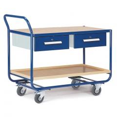 Rollcart Montagewagen mit 2 Schubladenschränke