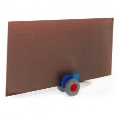 Rollcart Plattenroller 320x320mm zum Plattentransport 200kg Tragkraft Vollgummi/Luft