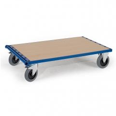 Rollcart Plattenwagen ohne Bügel 600kg Tragkraft 1600x800mm TPE