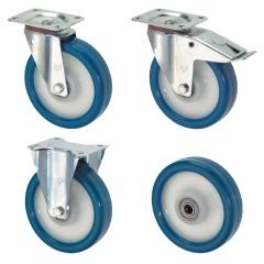 Rollcart Polyurethan- Rollen mit Kunststoff-Felge