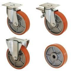 Rollcart Schwerlast- Polyurethan- Rollen bis 1500kg Traglast
