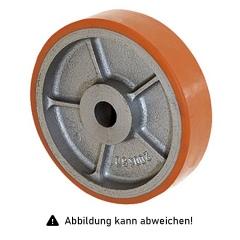 Rollcart Schwerlast- Polyurethan- Rolle  Ø100x30mm mit 200kg Tragkraft
