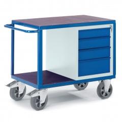 Schwerlast- Werkstattwagen mit 4 Schubladen 1000kg Tragkraft