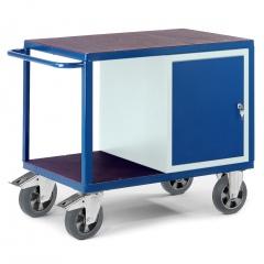 Schwerlast- Werkstattwagen mit Stahlschrank 1000kg Tragkraft