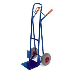 Rollcart Stapelkarre aus Stahlrohr 250kg Tragkraft Vollgummi/Luft