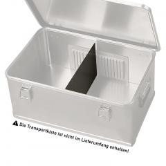 Rollcart Trennwand 385x240x1,5mm als Zubehör für Aluminium-Transportkisten