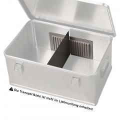 Rollcart Trennwandsystem für Aluminium-Transportkisten