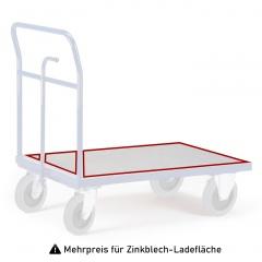 Rollcart Zinkblech -Ladefläche als Mehrpreis