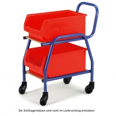 Rollcart Zubringer in Buchendekor 495x275mm