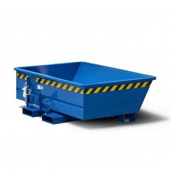 R+R Industrietechnik Minikipper Typ RMI-15 675x1075x450mm 150dm³ RAL 5010 Enzianblau