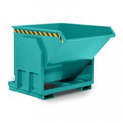 R+R Industrietechnik Schwerlastkipper Typ RMK-100 1400x1330x1030mm 1000dm³ RAL 5018 Türkisblau