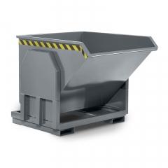 R+R Industrietechnik Schwerlastkipper Typ RMK-100 1400x1330x1030mm 1000dm³ RAL 7005 Mausgrau