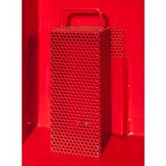R+R Industrietechnik Siebblockeinsatz und Ablasshahn für Kipper
