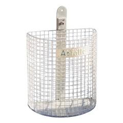 Schake Abfallbehälter aus Draht in Nierenform 27l Volumen Ø210x400mm