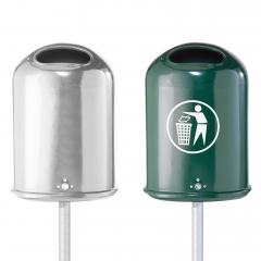 Schake Abfallbehälter oval 45l Volumen 410x600x260mm