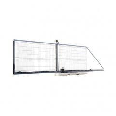 Schake Bauzauntor Typ Profi zur Zugangskontrolle 4,5x2m