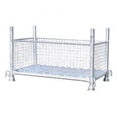 Schake Gitterboxpalette 1,5t Tragkraft 1,30mx0,70mx0,50m