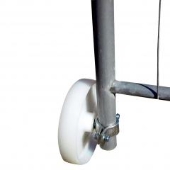 Schake Laufrolle Ø200mm für Bauzaun-Torelement