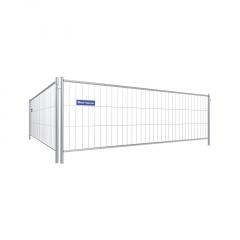 Schake Mobilzaun Standard Element mit Haken und Ösen 3,5x1,2m
