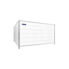 Schake Mobilzaun Standard Element mit Haken und Ösen 3,5x2m