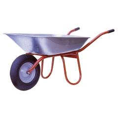 Schubkarre Carry, 85l Wanne, Stahlrohr-Rahmen, unmontiert