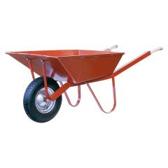 Schake Winkeleisenkarre Matador 85l mit Winkeleisengestell und Luft-/Vollgummirad