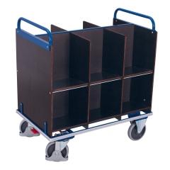 VARIOfit Aktenwagen mit 2x6 Fächern