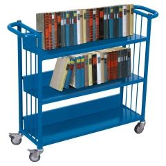 VARIOfit Büchertransportwagen mit 3 Etagen 830x265mm