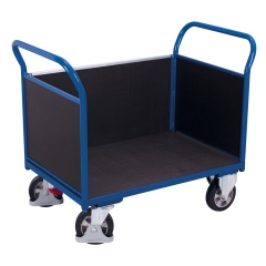 VARIOfit Dreiwandwagen mit Siebdruckplatte 1000kg Tragkraft