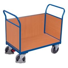 VARIOfit Dreiwandwagen mit Drahtgitter