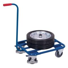 VARIOfit Griffroller mit Stahlrohrladefläche 605x500mm