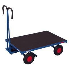 VARIOfit Handpritschenwagen ohne Bordwand Luft-/Vollgummibereifung 700kg Traglast