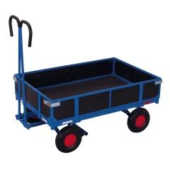 VARIOfit Handpritschenwagen mit Bordwand Luft-/ Vollgummibereifung