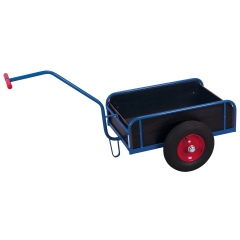VARIOfit Handwagen mit Bordwand Luft-/Vollgummibereifung