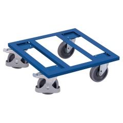 VARIOfit Kistenroller mit offenem Boden und Radfeststeller 500x500mm